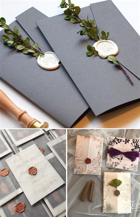 the hottest wedding invitations trends for 2019