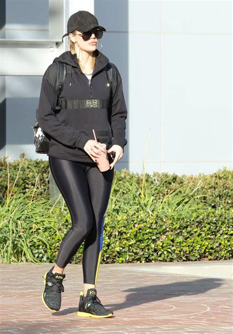 Khloe Kardashian - Leaving Equinox Gym in Los Angeles 12/4 ...
