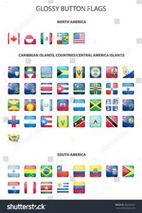 Caribbean Island Country Flags