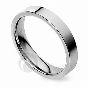plain flat court platinum wedding ring wedding dress from With platinum band wedding ring