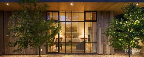 aluminum clad storefront window dynamic architectural
