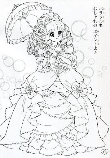 japanese coloring book japanese shoujo coloring book 2 coloring anime shojo