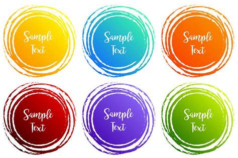 label designs   shapes   colors