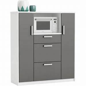 Meuble De Rangement Cuisine : meuble de rangement cuisine compact pas cher prix auchan ~ Teatrodelosmanantiales.com Idées de Décoration