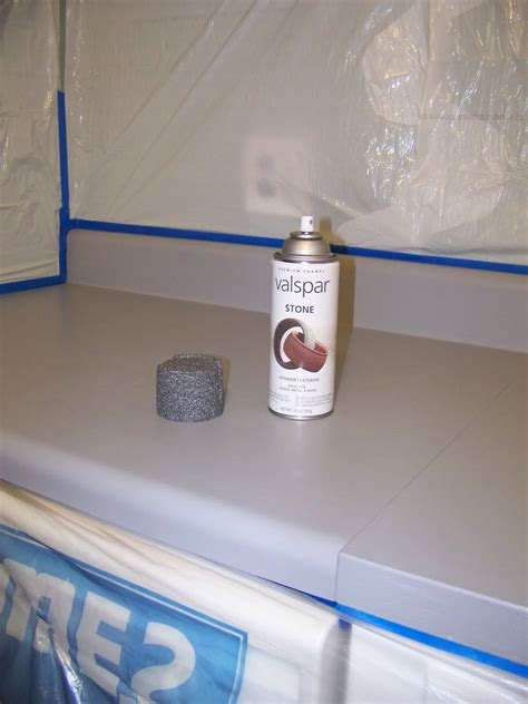 Spray Paint Countertops by The Jones Family Kitchen Makeover Part Ii Painting The