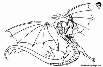 Dragon Song Coloring Death Printable Fury Coloriage