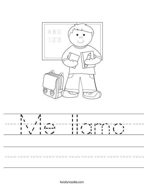 me llamo worksheet specific preschool 738 | 4aedd83b9cc069ad5f9f357aa3a37c8d
