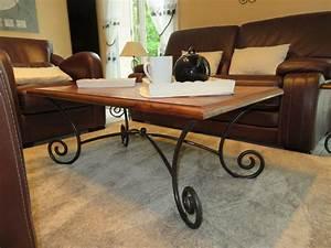 Table Fer Forgé Occasion : table salon bois fer forge occasion clasf ~ Teatrodelosmanantiales.com Idées de Décoration