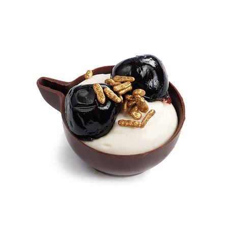 Šokolādes krūzīte ar laima krēmu un amarone ķiršiem - Kūkas, deserti un saldās uzkodas - Banketi ...