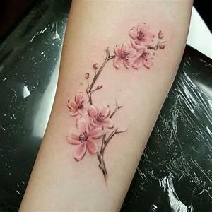 Tattoo Fleur De Cerisier : pin de valeska sanchez en tatoos femeninos tatouage tatouage cerisier y tatouage fleur de ~ Melissatoandfro.com Idées de Décoration