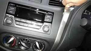 How To Remove The Factory Radio From A Nissan Navara Np300