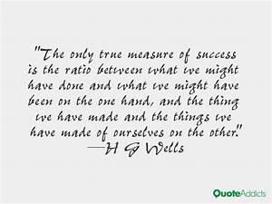 True Measure Of Success Quotes. QuotesGram