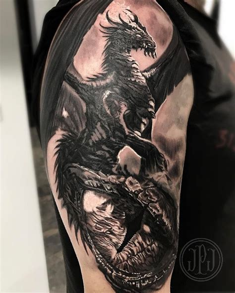 538 Best Dragon Tattoos Images On Pinterest Dragon
