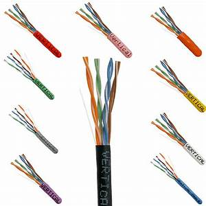 Cat5e And Cat6 Structured Cable