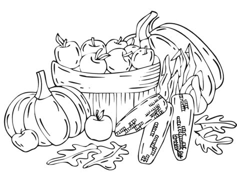 Harvest Coloring Pages Harvest Coloring Pages Best Coloring Pages For