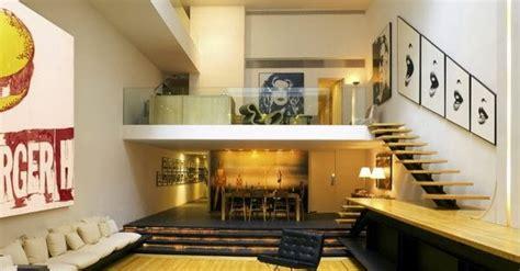 gambar kamar tidur susun konsep mezzanine referensi rumah