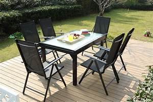 Salon De Jardin 6 Personnes : table de jardin extensible en aluminium 12 places 6 ~ Dode.kayakingforconservation.com Idées de Décoration
