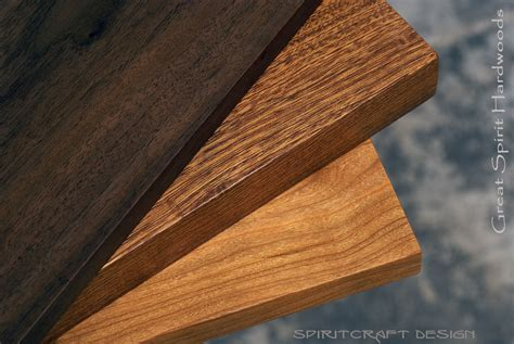 Custom solid hardwood table tops   live edge slabs
