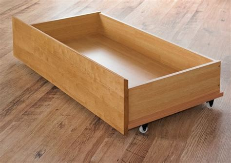 bed drawers with wheels pair of oak finish bed drawers underbed drawers