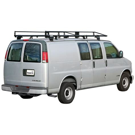 racking for vans buyers products company black steel ladder rack