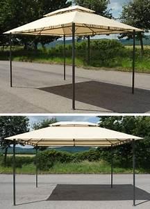 Metall Pavillon Mit Dach : pavillon metall 3x4m beige mit dach ~ Sanjose-hotels-ca.com Haus und Dekorationen