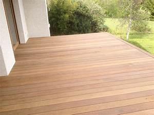 Terrasse En Ipe : terrasse en bois exotique ip sur pilotis et escalier ~ Premium-room.com Idées de Décoration