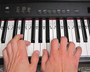PIANO KEYBOARD STICKERS ~Learn Music Play Teach Key Note ...