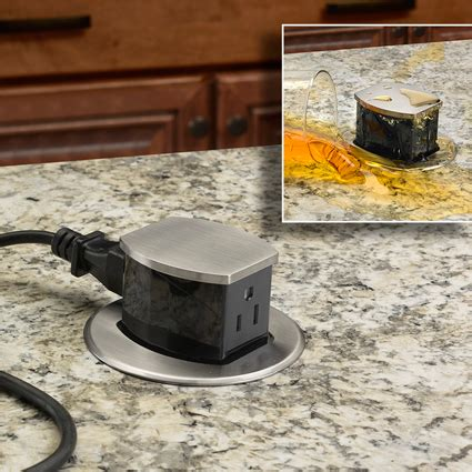 countertop electrical receptacles selected electrical product hubbell introduces pop