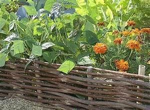 creer une bordure en plessis au potager With faire ses bordures de jardin