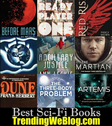 Best Science Fiction Books by 55 Best New Sci Fi Books Best Science Fiction Books Of