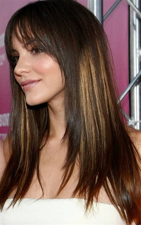 long straight hairstyles 2014 2014 long straight hairstyle with highlights pretty designs