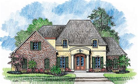 French Country Home Plan With Extras