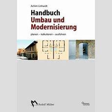 Handbuch Umbau Und Modernisierung Von Achim Linhardt