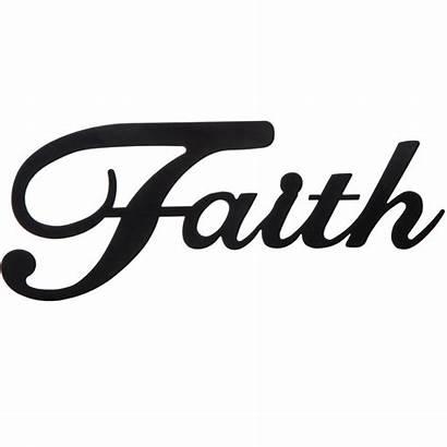 Faith Decor Wall Metal Words Hobby Lobby