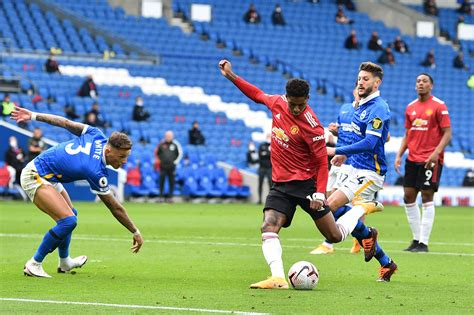 Manchester United player ratings vs Brighton and Hove ...