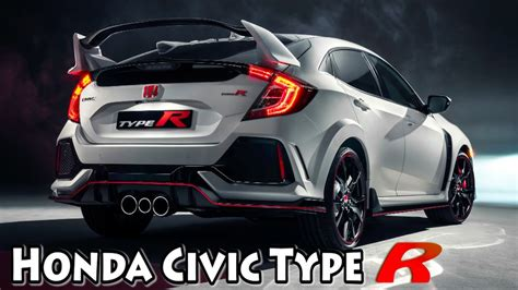 Civic Type R Hd Picture by 2017 Honda Civic Type R 1st Look