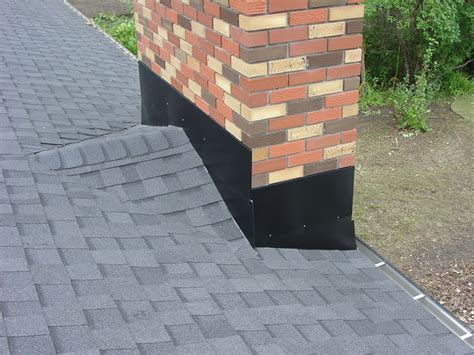 roofing material types around chimney ventilation