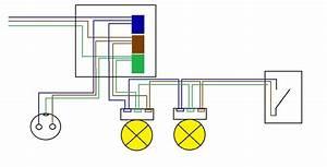 Schaltplan Lichtschalter Steckdosen Kombination Steckdose An