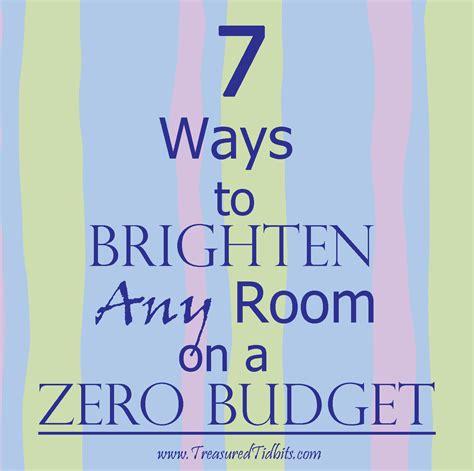 Treasured Tidbits By Tina 7 Ways To Brighten Any Room On A