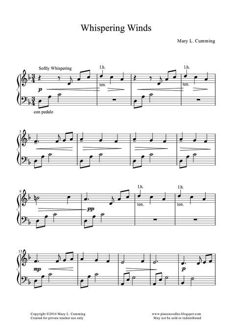 piano noodles new site with free original piano music for teachers to share with their