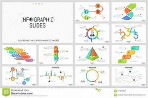 Big Set Of Minimal Infographic Design Templates  Graphs