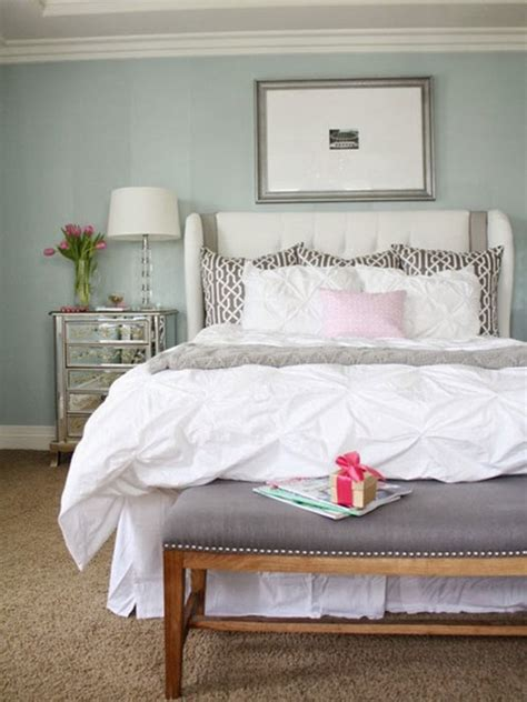 A Relaxing And Calming Master Bedroom Transitional