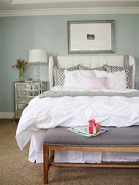 master bedroom bedding A relaxing and calming master bedroom - Transitional ...