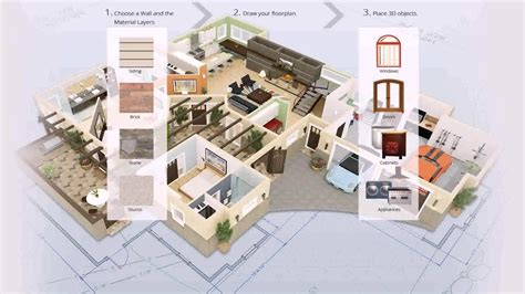 home design 3d pour windows 7 3d home design software free download for windows 7 youtube