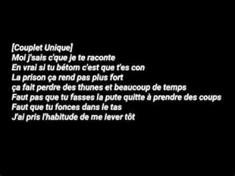 Koba Lad  Freestyle Ténébreux #1 Parole Lyrics Youtube