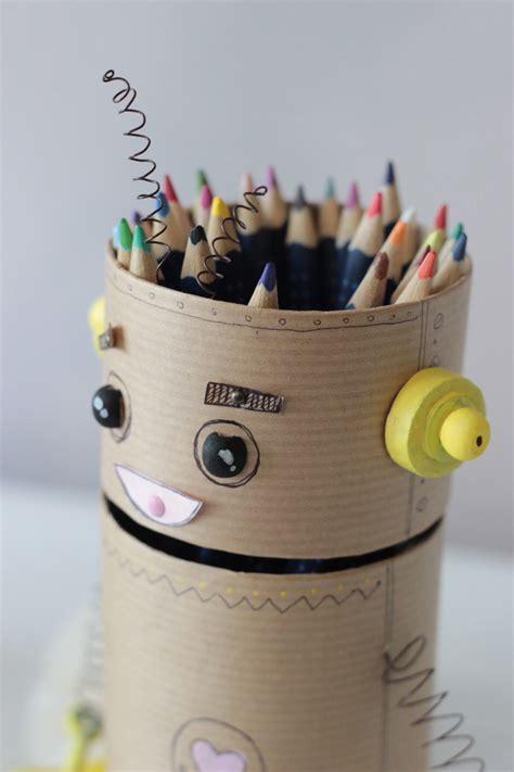 créer un pot à crayon recyclé idée créativeidée
