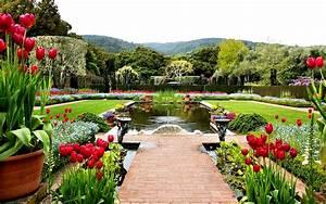 Spring Flower Garden #4248210, 2560x1600