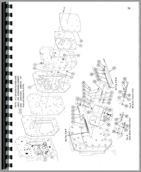 1206 International Tractor Wiring Diagram Schematic by International Harvester M W Tractor Parts Manual