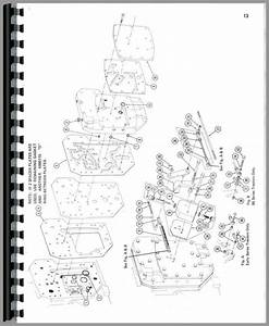 Farmall 706 Tractor M U0026w Tenderfoot Shifter Parts Manual