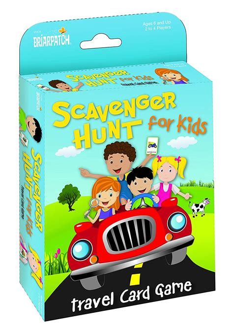 travel scavenger hunt card game   reg